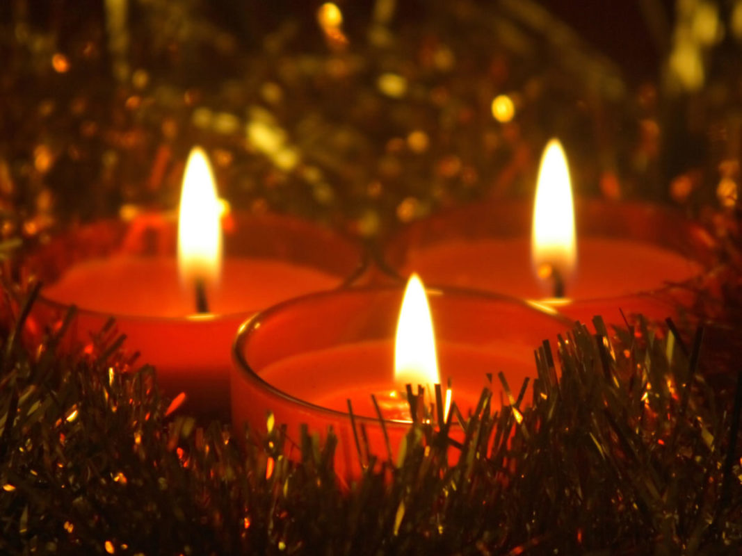 Christmas Candles- Advent