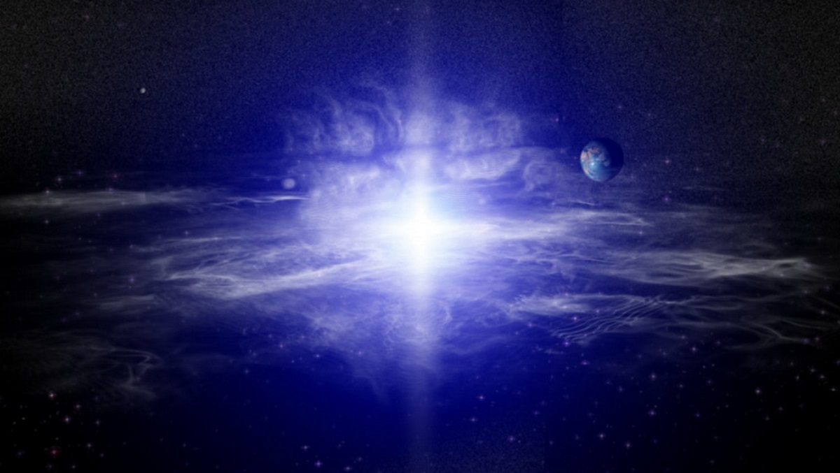 Bright light in space